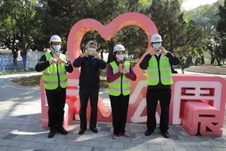 雲林縣府迎新春 虎尾街道改善工程年前竣工