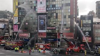 基隆消防演练火灾抢救 护民眾过好年