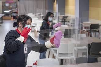 安心洽辦公 桃市府維持實名制 加強防疫消毒清潔