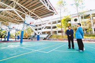 竹縣6校新建風雨球場 7月底前完工