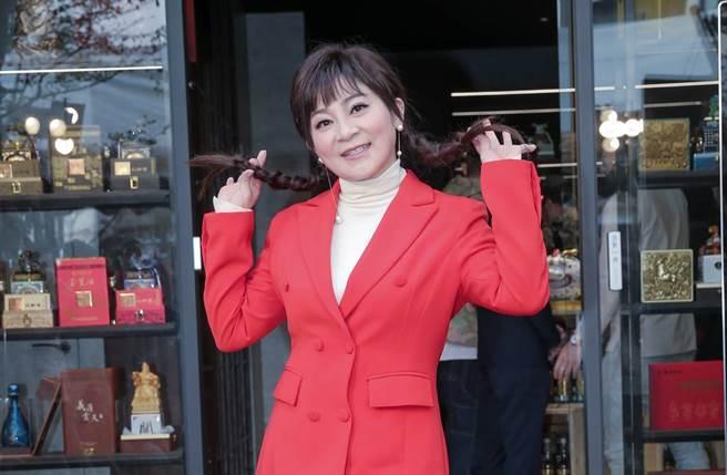 王彩樺在螢光幕相當活躍,她也樂於分享私生活,不吝嗇曬出女兒美照。(圖/本報系資料照片)