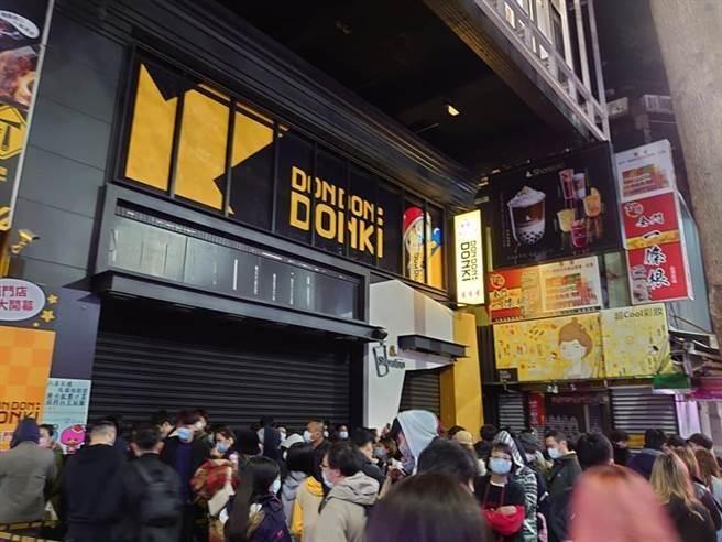 日本唐吉訶德於台灣設店。(中時電子報)