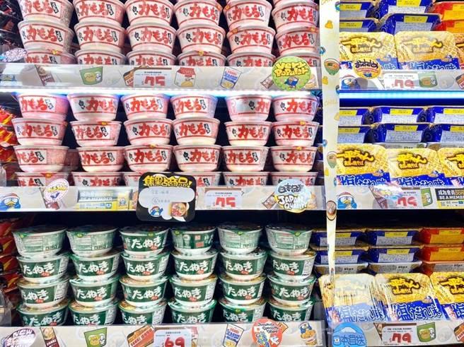 泡麵零食類跟台灣其他通路比起來就便宜了不少。(取自美麗佳人)