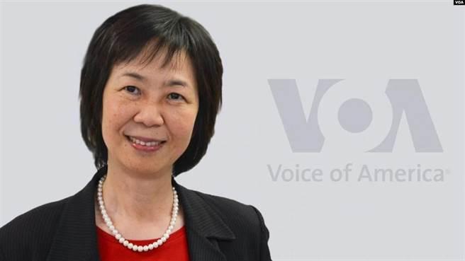 新任的美國國際媒體署代理執行長趙克露(取自美國之音網頁)