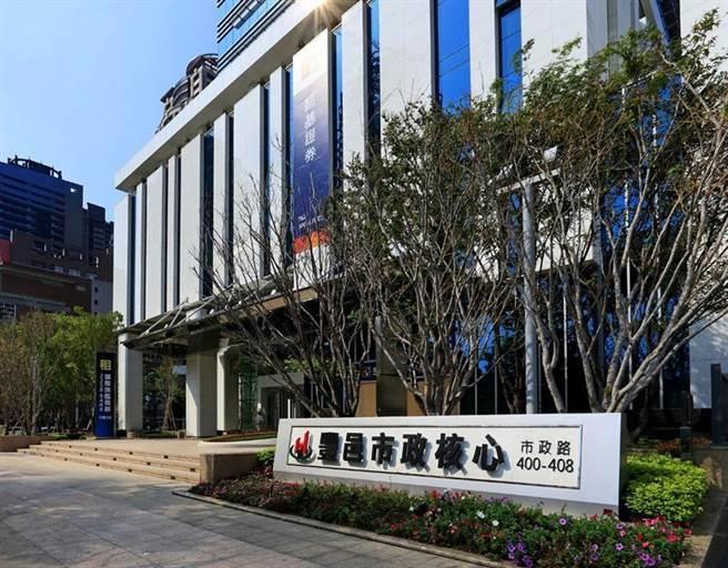 七期市政路的「豐邑市政核心大廈」,目前出租率達九成。(圖/豐邑提供)