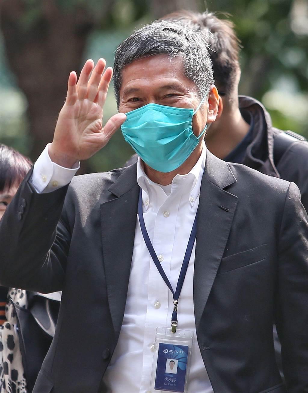 文化部长李永得表示,依照防疫指挥中心规定,目前各场馆还是遵守防疫新生活计画的防疫规定。(本报资料照)