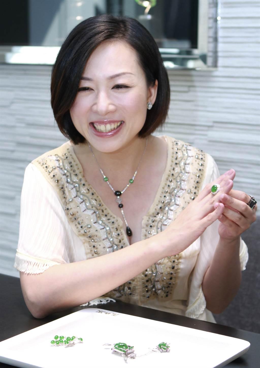 路永佳婚後出席公開活動,臉上總是洋溢著幸福笑容。(本報系資料照)