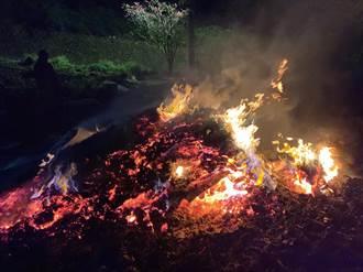 三峽水電工空地燒廢電纜 遭逮後企圖滅證引二度悶燒