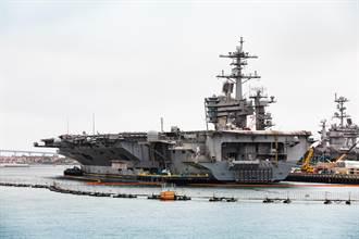 美羅斯福號航母打擊群 進入中菲黃岩島爭議海域