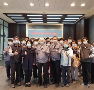 勞動力發展署中彰投分署產學訓學員 投入「口罩國家隊」挺防疫