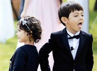 劉燁9歲混血女兒遭酸長歪 網見暴牙黑膚嗆:沒諾一好看