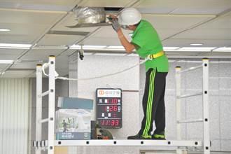 防疫大作戰 台企銀中央空調增設過濾裝置