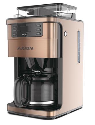 憶聲 推AXION聲控智慧咖啡機
