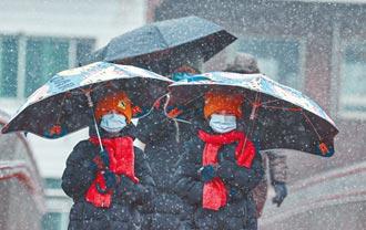 又見冬雪 霧鎖北京斷航班