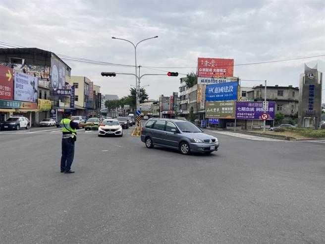 台中市警局將提前啟動春節連續假期交通疏導措施。(台中市警察局提供/張妍溱台中傳真)