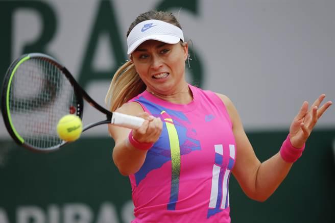 西班牙女網選手巴多薩抱怨澳網安排的隔離飯店環境不佳。(資料照/美聯社)