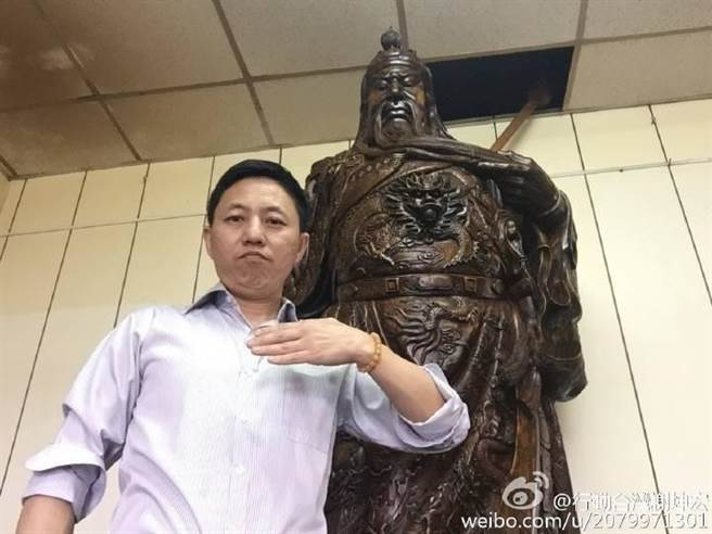 國民黨中常委聯誼會祕書長謝坤宏。(摘自謝坤宏臉書)