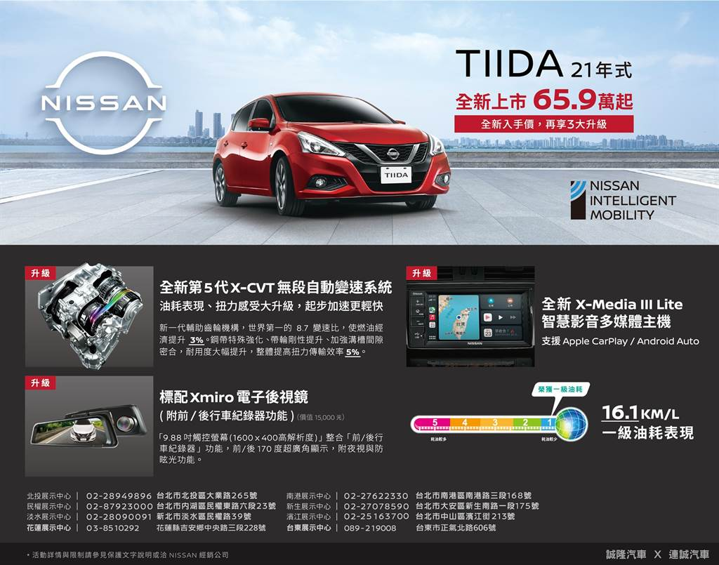 北區經銷商透露訊息,2021 年式樣 Nissan TIIDA 升級版即將推出、DIG TURBO 取消