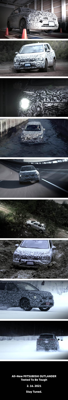 採用 CMF-D 平台、越野性能依舊剽悍,Mitsubishi Outlander 第四代即將於 2/17 發表