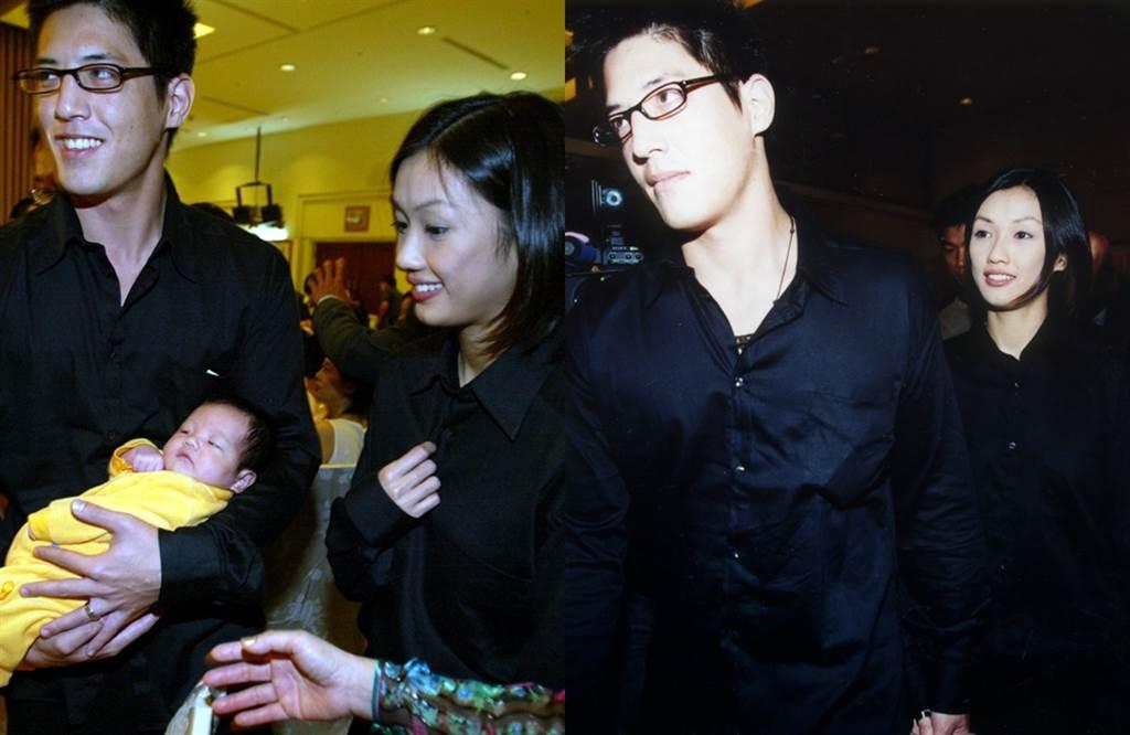 蔣友柏和林姮怡的恩愛畫面成過往。(圖/中時資料照)