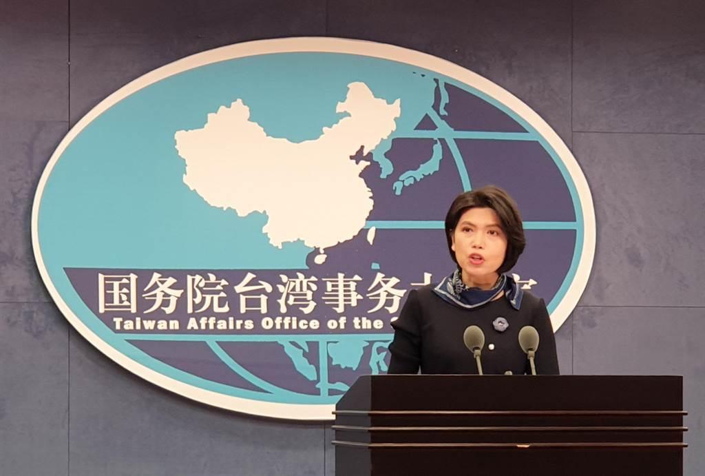 大陸國台辦發言人朱鳳蓮27日以「這位先生」稱呼我衛福部長陳時中,並批評唬弄台灣老百姓。(藍孝威攝)