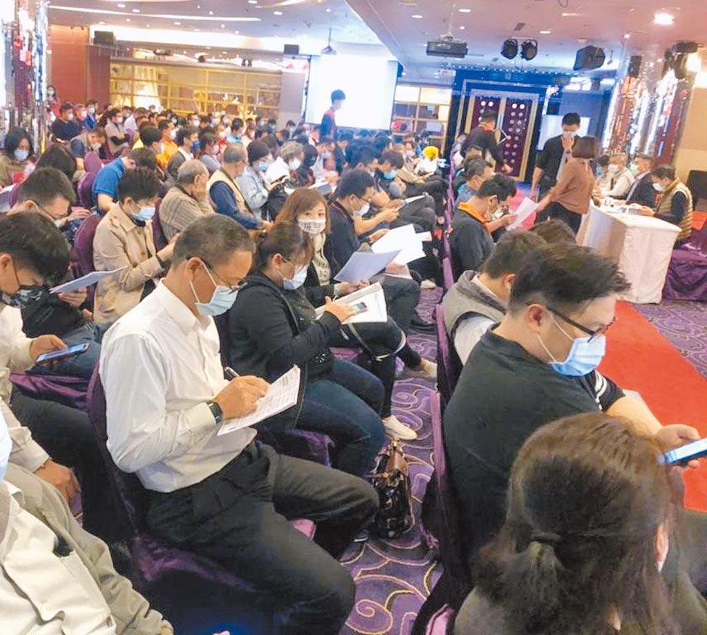 2021台南自動化機械智慧製造展的參展須知說明會,廠商們踴躍參與。圖/陳惠珍