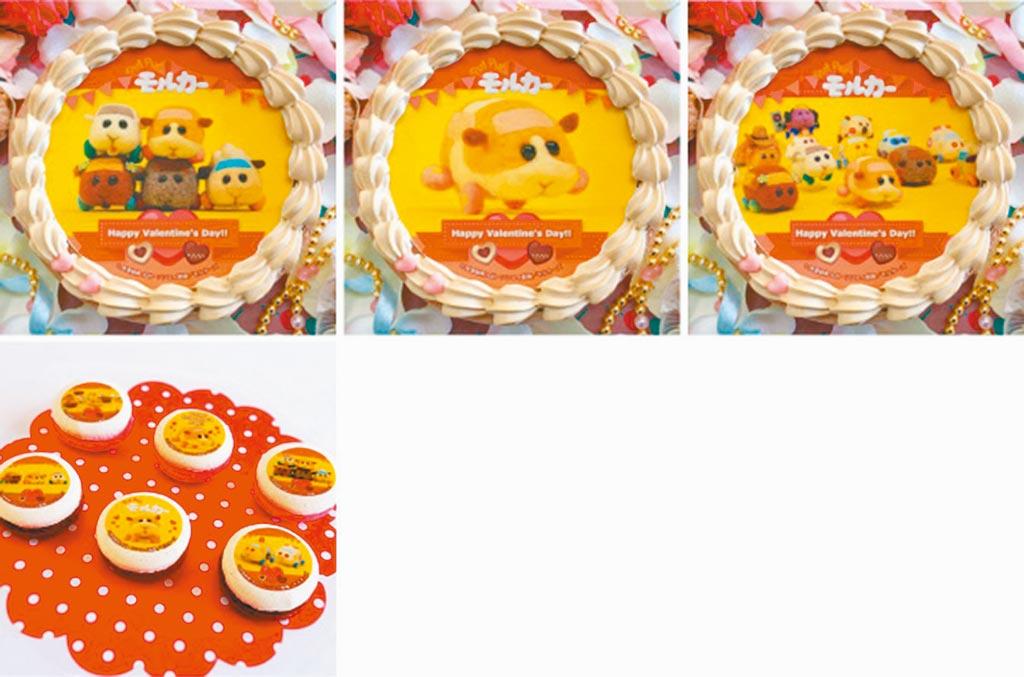 日本一家蛋糕商獲官方授權,推出限量《天竺鼠》情人節蛋糕與馬卡龍組。(摘自priroll官網)