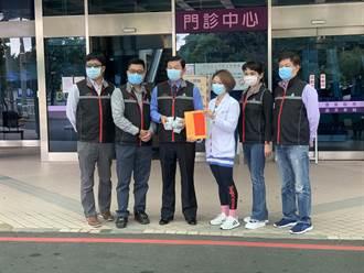 德林寺賴文龍捐獻桃醫100萬 院方致謝:疫情以來最大筆款項