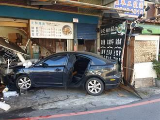 警追贓車撞進路旁店家撞傷母親 當事人怒PO文控:撞後不理