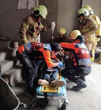 電梯開門底下是空的 工人一腳踩入摔5樓深慘死