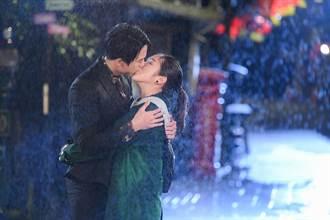 梁舒涵和霸總雨中浪漫擁吻!就怕鼻涕一起親進去