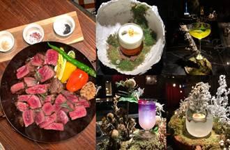 東區人氣餐酒推4款浮誇花藝調酒 微醺私廚加倍療癒
