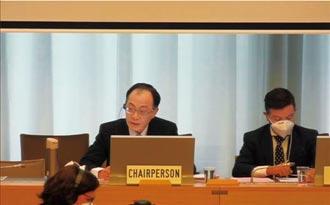 WTO參事黃漢銘 獲選委員會主席