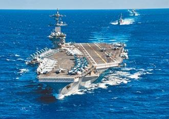美航母与大陆海空军南海较劲? 张竞揭密