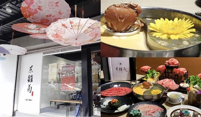 「東雛菊–風味鍋物」網路評價不僅是湯頭特別、肉品品質好,擺盤也是大飽眼福,深受不少老饕喜愛。(Campus編輯室拍攝製作)