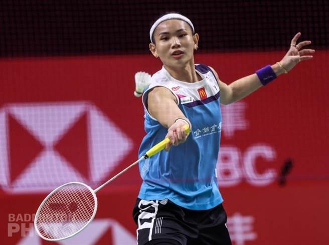戴資穎在BWF年終總決賽女單小組賽第一場力戰三局氣走辛度。(Badminton Photo提供)