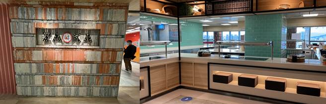 Google Tpark辦公室9樓員工餐廳(1)。(黃慧雯攝)