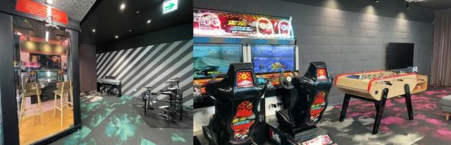 Google Tpark辦公室10樓遊戲室(2)。(黃慧雯攝)