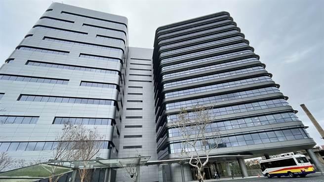 Google Tpark辦公室位在台北遠東通訊園區內。(黃慧雯攝)