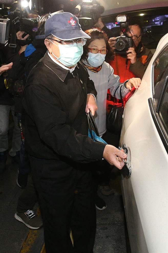 议员潘怀宗被控贪污罪嫌,士林地院裁定200万元交保。(图/杜宜谙摄)