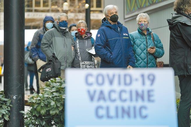 Worldometer網站顯示,全球新冠肺炎確診人數已突破1億,染疫死亡人數超過215萬。美國25日累計確診超過2586萬例,累計死亡超過43萬例。(美聯社)
