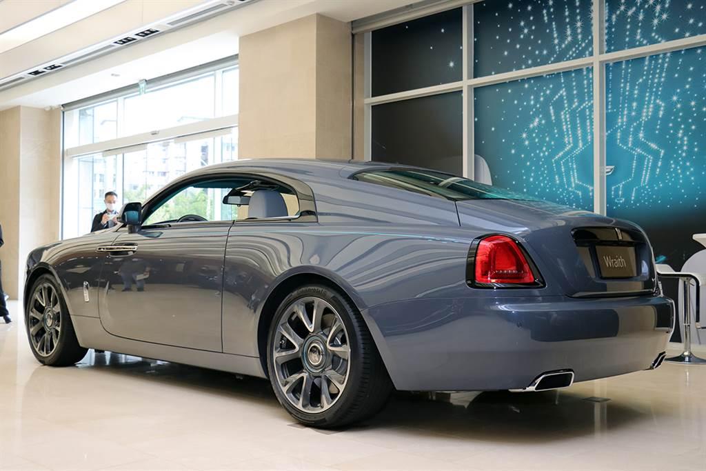 全球限量 50 台、台灣唯一,Rolls-Royce Wraith Kryptos「隱匿之鑰」售價2540.8 萬正式亮相!