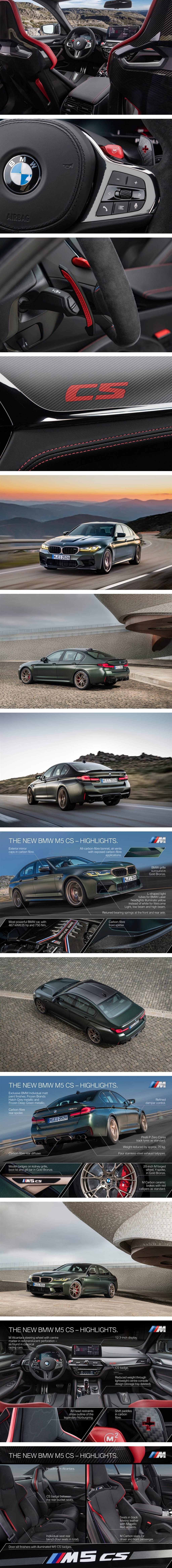BMW有史以來最強之M5 CS 引進國內應無希望