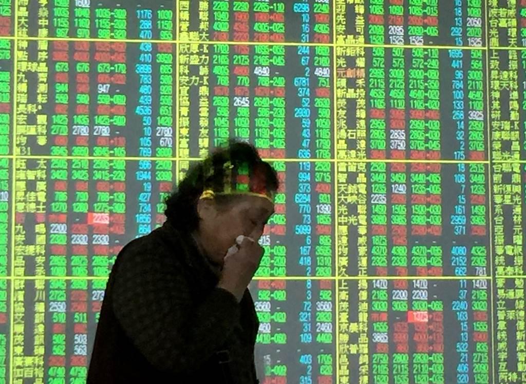 台股今日跌破月線。(示意圖/本報系資料照片)
