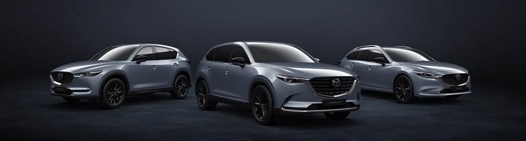 繼上市後受到廣大消費者好評的MAZDA CX-5黑艷版,正2021年式MAZDA CX-9與MAZDA6亦同步導入黑艷版車型,展演更富運動感的質感氛圍。