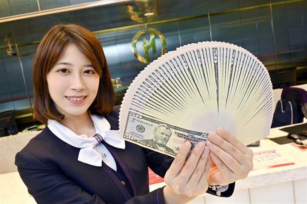 華南銀行針對中小企業及個人推出「2個月期、年息0.4%美元優利定存專案」。圖/華南銀行提供