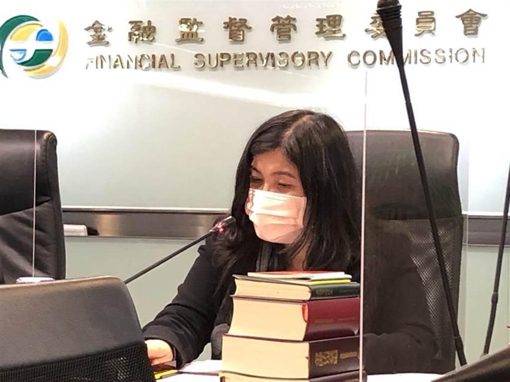 金管會證期局副局長蔡麗玲。圖/魏喬怡