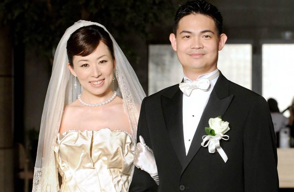 連勝武與路永佳11年前結婚照。(本報系資料照)
