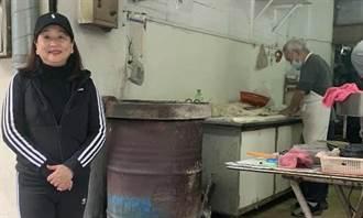 陳玲玲》飄香四十多年的炭火燒餅 和記豆漿店