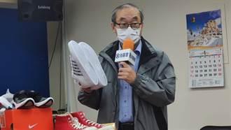 知名作家劉墉險滑倒被車撞 籲鞋子需訂「止滑標準」